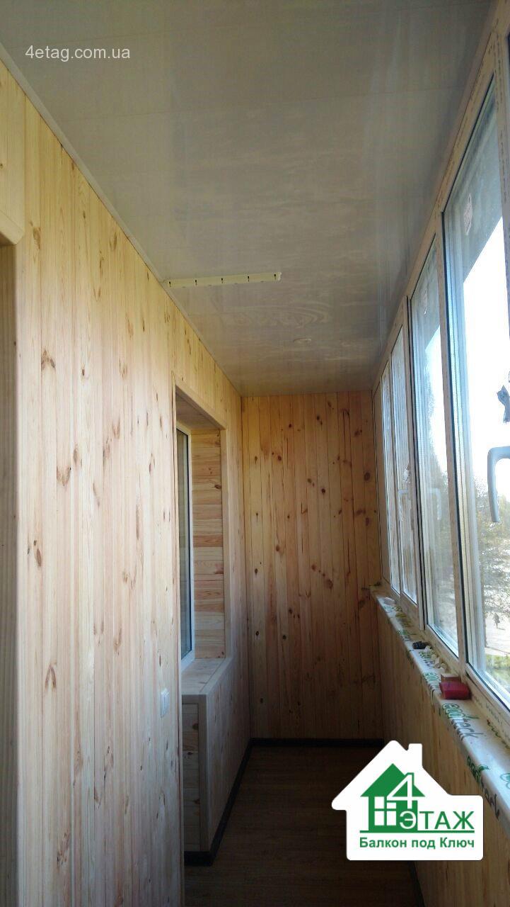 """Балкон под ключ - полный цикл ремонта недорого """" все о горно."""